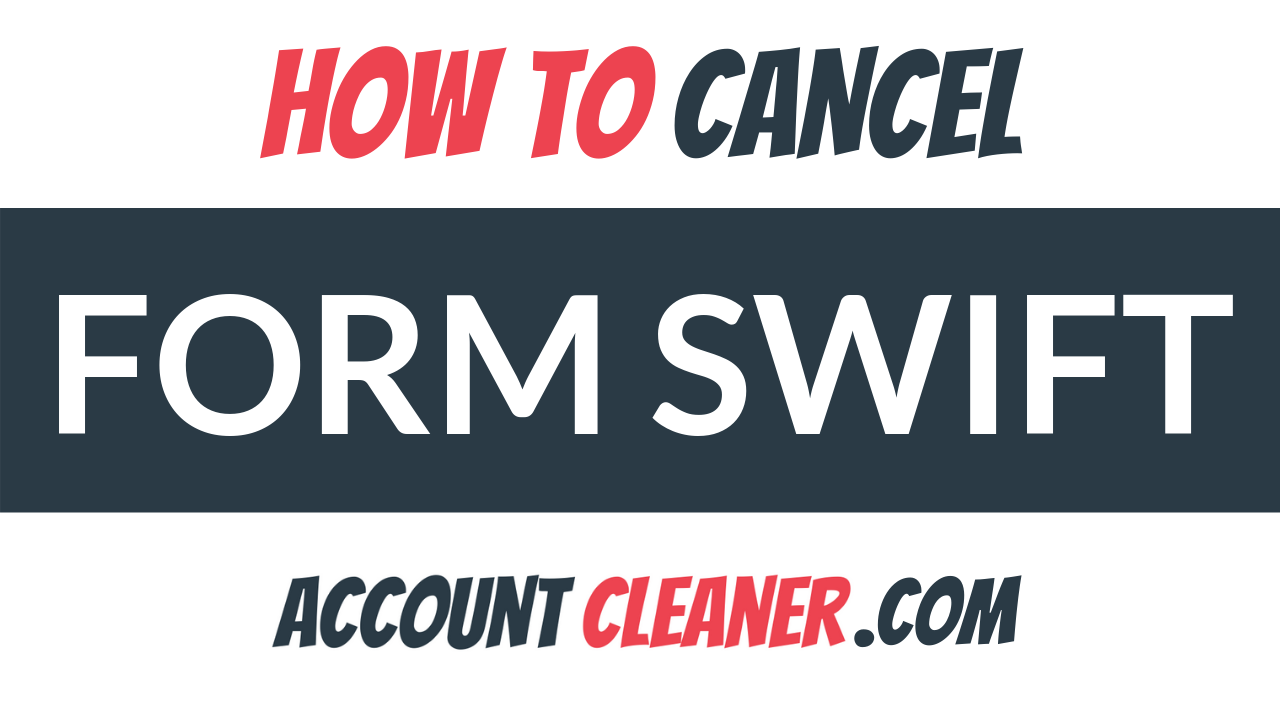 How to Cancel Form Swift